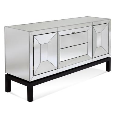 Tangent Mirrored Buffet Cabinet