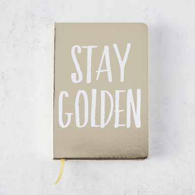 Stay Golden Journal