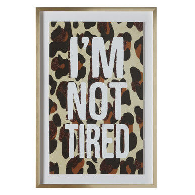 I'm Not Tired Leopard