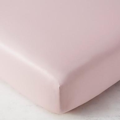 Celest Crib Sheet - Blush