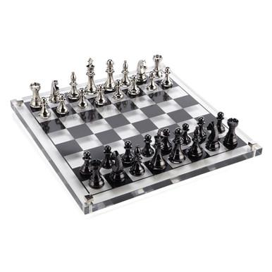 Acrylic Chess Set