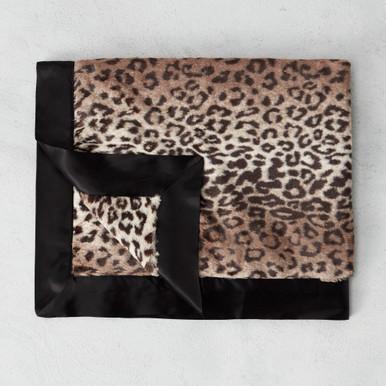 Luxe Leopard Baby Blanket