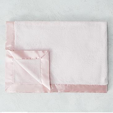 Luxe Baby Blanket - Pink