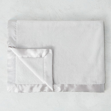 Luxe Baby Blanket - Silver
