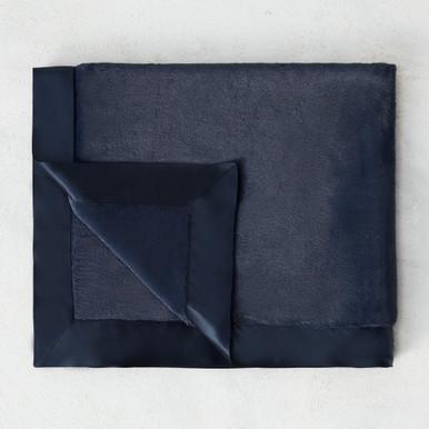 Luxe Baby Blanket - Denim