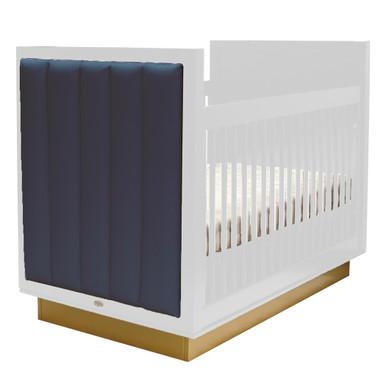 Astoria Crib - White/Gold/Majestic Blue