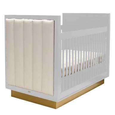 Astoria Crib - White/Gold/Lily White