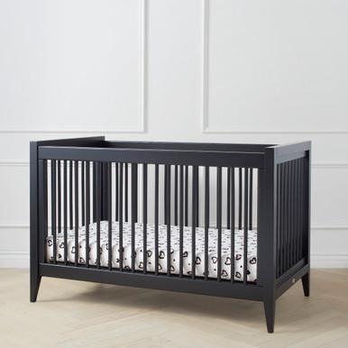 Devon Crib - Black