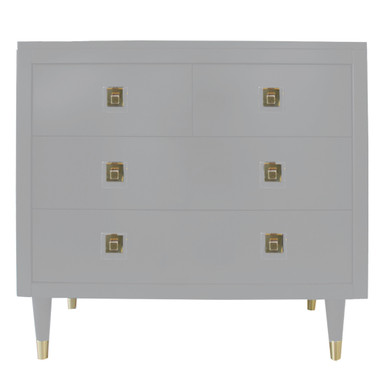 Uptown 4 Drawer Dresser - French Grey