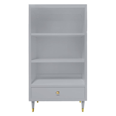 Uptown Bookcase With Drawer - French Grey