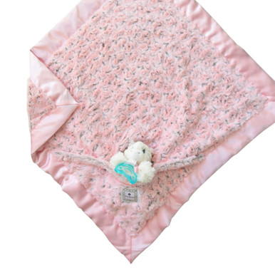 Luxie Pockets Blush With Unicorn + Cotton Candy Teether