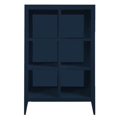 Devon Bookcase - Deep Blue