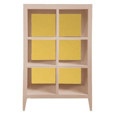 Devon Bookcase - Bahama Pink/Gold