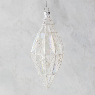 Faceted Finial Ornament