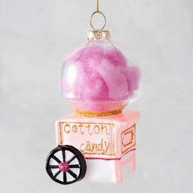 Cotton Candy Cart Ornament