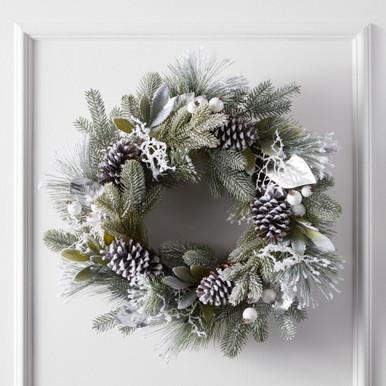 Winterberry & Pine Wreath