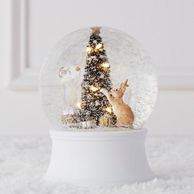 Deck The Halls Snow Globe