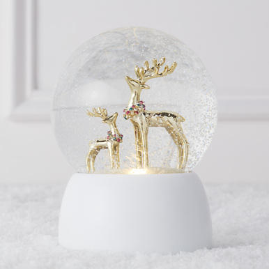 Majestic Reindeer Snow Globe