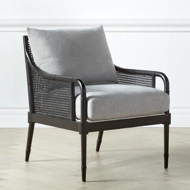 Addison Accent Chair - Matte Black