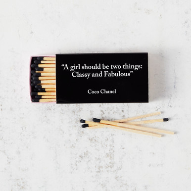 Classy And Fabulous Coco Chanel Matches
