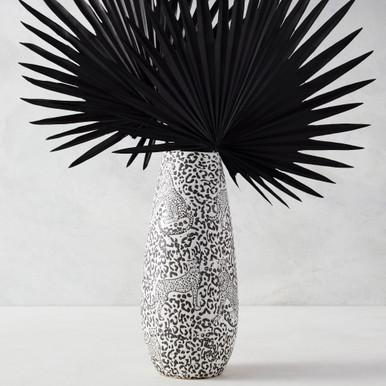 Cheetah Vase