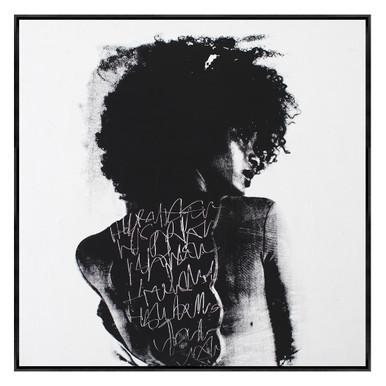 Graffiti On Her Back