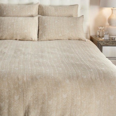 Loren Bedding - Gold