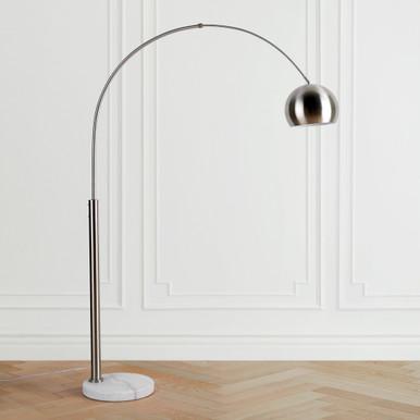 Orson Floor Lamp - Nickel