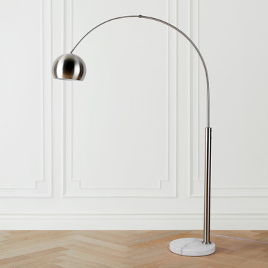 Orson Floor Lamp - Nickel