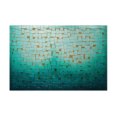 Nuances Of Blue - Glass Coat