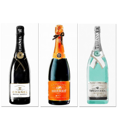 Champagne Trois - Set of 3