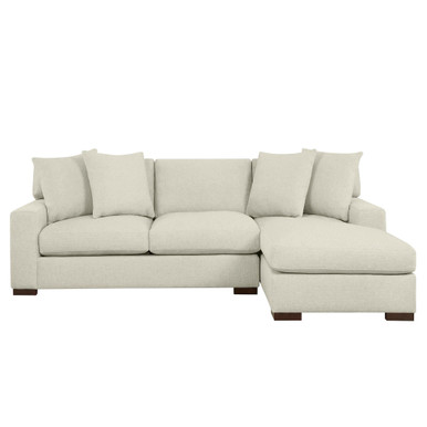 Del Mar Chaise Sectional - 2 PC