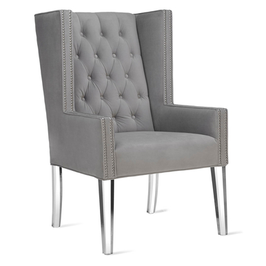 Logan Accent Chair - Acrylic