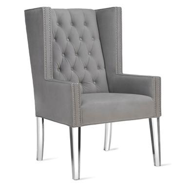 Logan Accent Chair - Acrylic