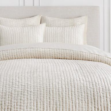 Mardon Velvet Bedding - White