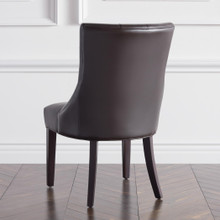 Nottingham Leather Dining Chair - Espresso