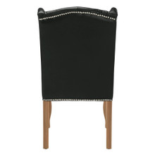 Archer Leather Dining Chair - Wash Oak