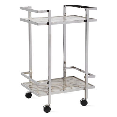 Agate Bar Cart