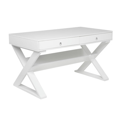 Jett Desk - White Lacquer