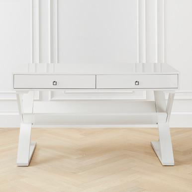 In Stock - Jett Desk - White Lacquer
