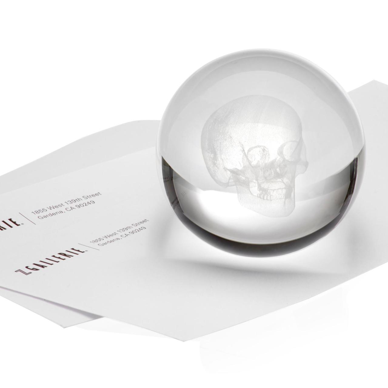 Crystal Skull Paperweight