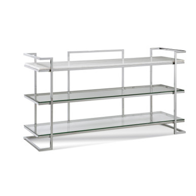 Vincente 3 Shelf Console Table