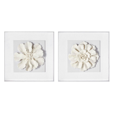 Bisque Flower 1 And 2