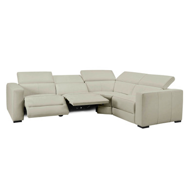 Verona Reclining Leather Sectional