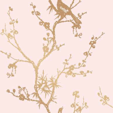 Blush Bird Wallpaper