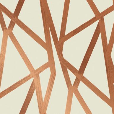Modern Bronze Wallpaper