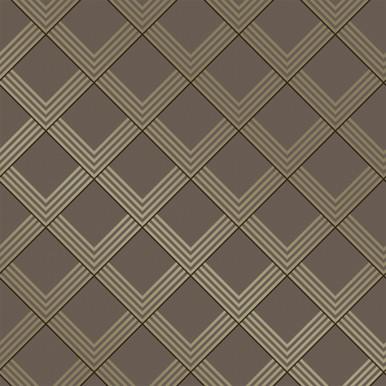 Graphite Grid Wallpaper