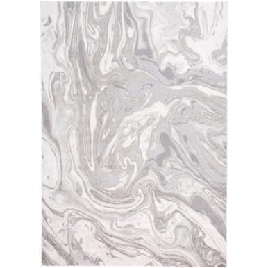 Marble Rug - Grey