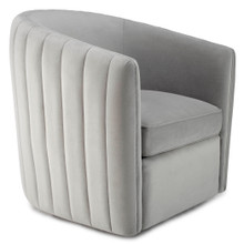 Aria Channeled Swivel Chair
