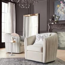 Aria Channeled Swivel Chair